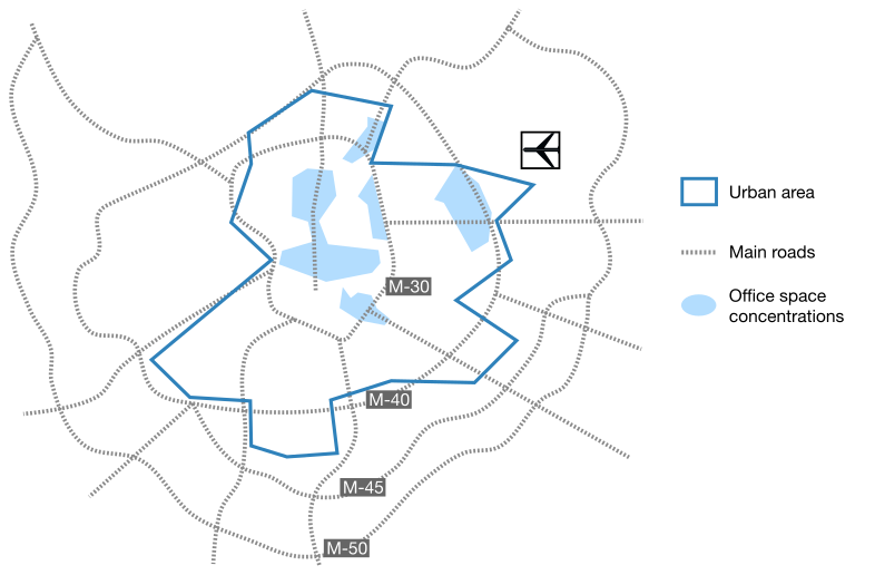 Madrid office areas